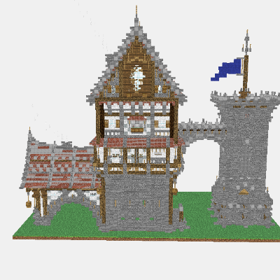 Mineprints View Minecraft creations layerbylayer